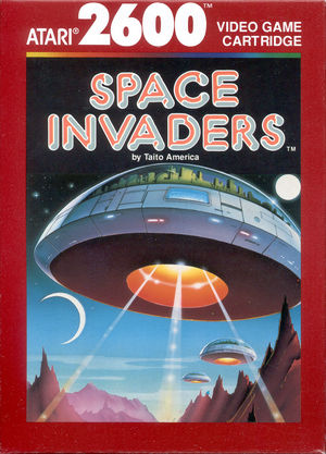 Cover for Space Invaders.