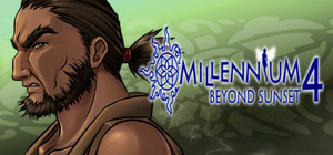 Cover for Millennium 4 - Beyond Sunset.