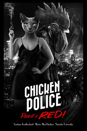 Cover for Chicken Police.