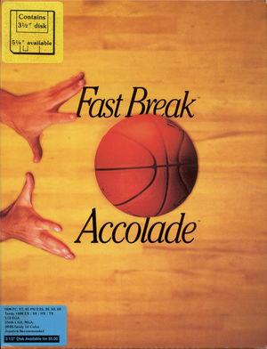 Cover for Fast Break.