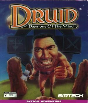 Cover for Druid: Daemons of the Mind.