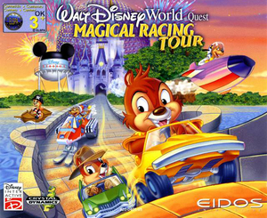 Cover for Walt Disney World Quest: Magical Racing Tour.