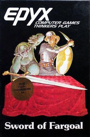 Cover for Sword of Fargoal.