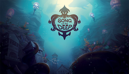Cover for Song of the Deep.