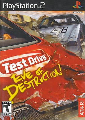 Cover for Test Drive: Eve of Destruction.