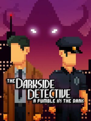 Cover for The Darkside Detective: A Fumble in the Dark.