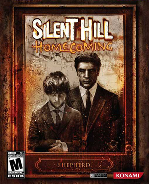 Cover for Silent Hill Homecoming.