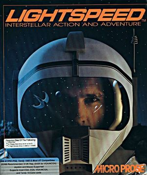 Cover for Lightspeed.