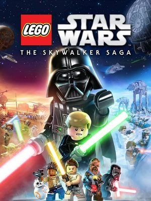 Cover for Lego Star Wars: The Skywalker Saga.