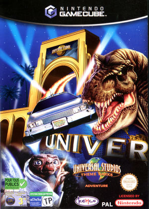 Cover for Universal Studios Theme Parks Adventure.