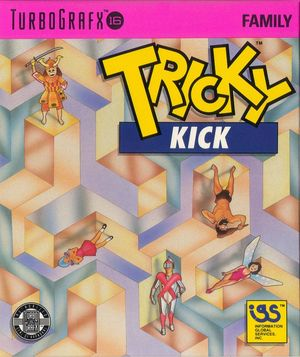 Cover for Tricky Kick.