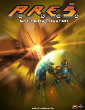 Cover for A.R.E.S.: Extinction Agenda.