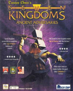 Cover for Seven Kingdoms.