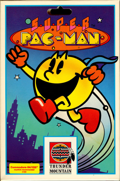 Cover for Super Pac-Man.