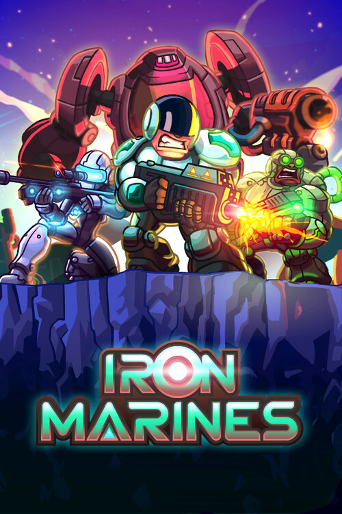 Cover for Iron Marines.