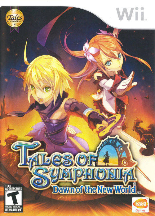 Cover for Tales of Symphonia: Dawn of the New World.