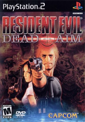 Cover for Resident Evil: Dead Aim.