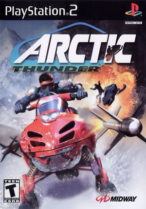 Cover for Arctic Thunder.