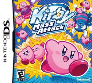 Cover for Kirby Mass Attack.