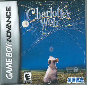 Cover for Charlotte's Web.