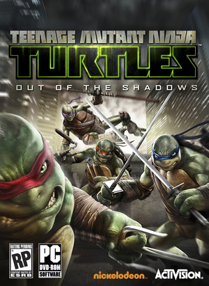 Cover for Teenage Mutant Ninja Turtles: Out of the Shadows.