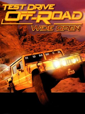Cover for Test Drive Off-Road Wide Open.