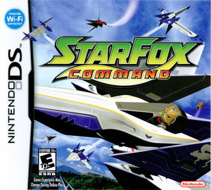Cover for Star Fox Command.