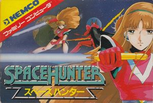 Cover for Space Hunter.