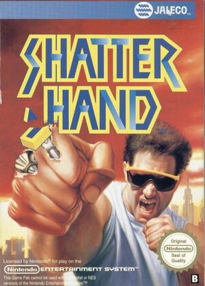 Cover for Shatterhand.