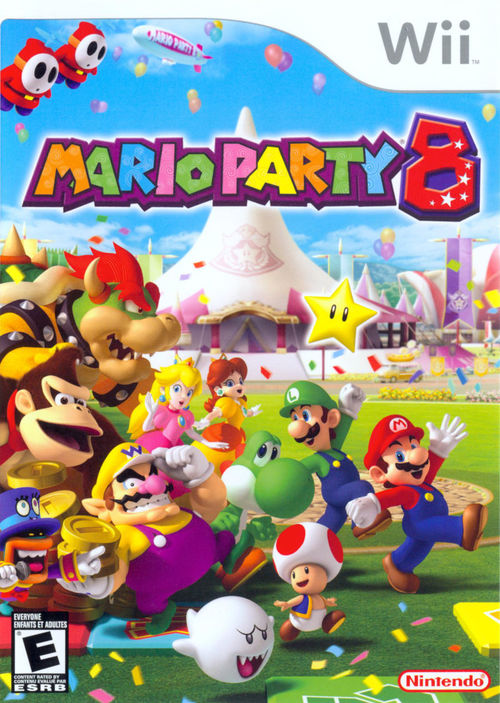 Cover for Mario Party 8.