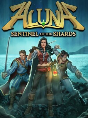 Cover for Aluna: Sentinel of the Shards.