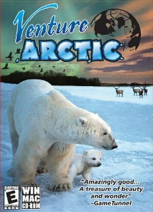 Cover for Venture Arctic.