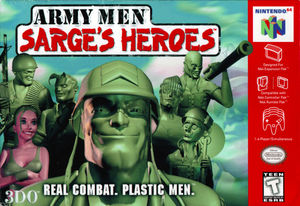 Cover for Army Men: Sarge's Heroes.
