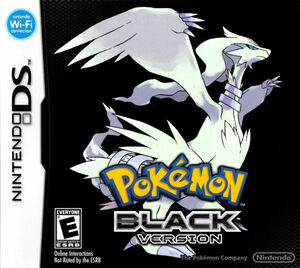 Cover for Pokémon Black.