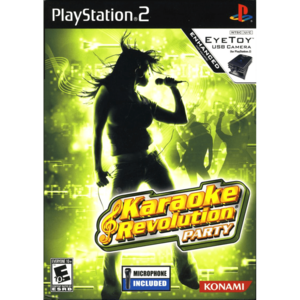 Cover for Karaoke Revolution Party.