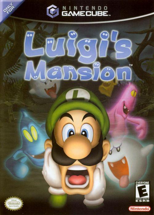 Cover for Luigi's Mansion.
