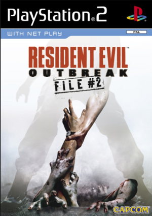 Cover for Resident Evil Outbreak: File #2.