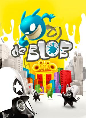 Cover for De Blob.
