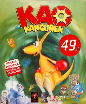 Cover for Kao The Kangaroo.