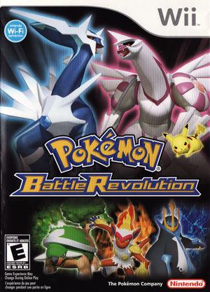 Cover for Pokémon Battle Revolution.