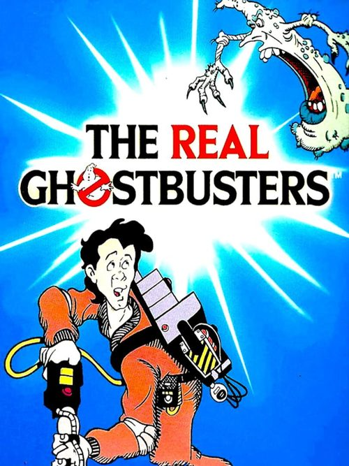 Cover for The Real Ghostbusters.