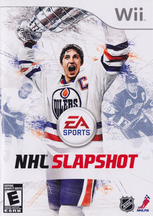 Cover for NHL Slapshot.