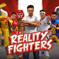 Cover for Reality Fighters.