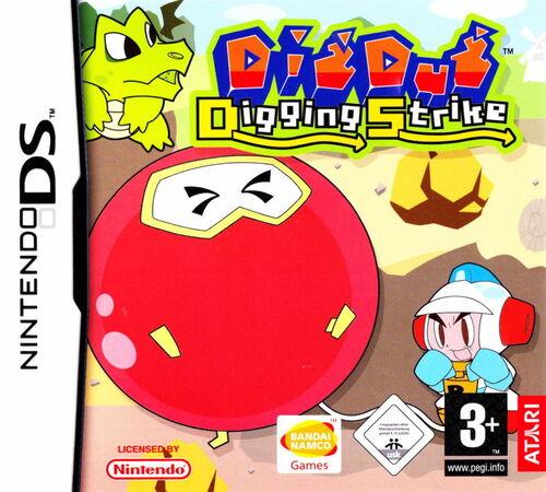 Cover for Dig Dug: Digging Strike.