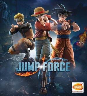 Cover for Jump Force.
