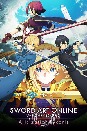 Cover for Sword Art Online: Alicization Lycoris.