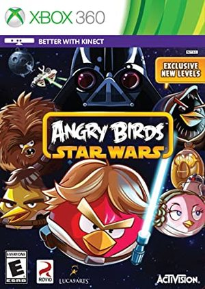 Cover for Angry Birds Star Wars.
