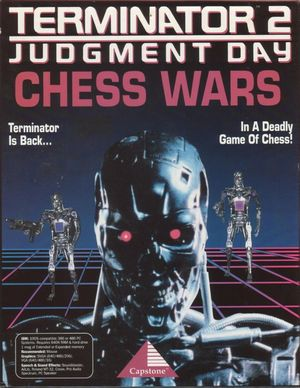 Cover for Terminator 2: Judgment Day - Chess Wars.