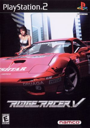 Cover for Ridge Racer V.