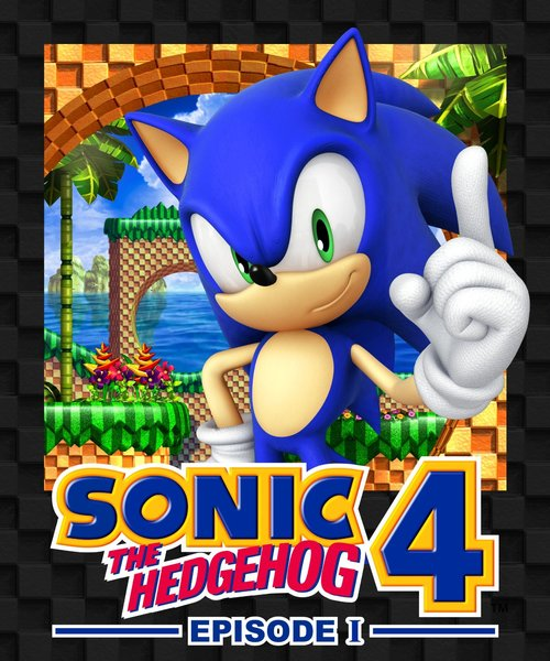 Cover for Sonic the Hedgehog 4: Episode I.